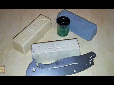 Сравнение паст для полировки: Dialux и другие полировальные пасты
