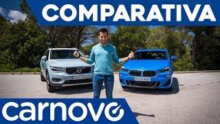 BMW X2 vs Volvo XC40 - Comparativa / Review / Prueba / Test en español | Carnovo
