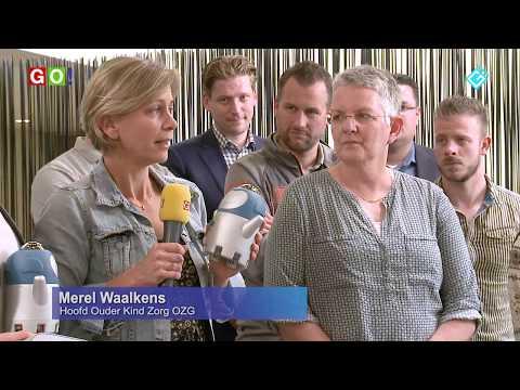Overhandiging VR-iendjes aan het Ommelander Ziekenhuis Groningen - RTV GO! Omroep Gemeente Oldambt