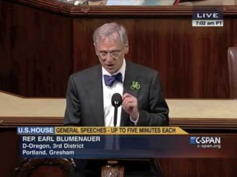 Congressman Blumenaueer Destroys War on Marijuana in Four Minutes