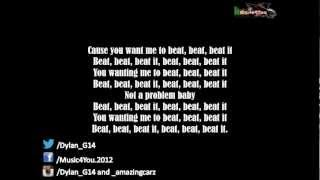 Sean Kingston - Beat It (Ft. Chris Brown & Wiz Khalifa) FULL LYRICS