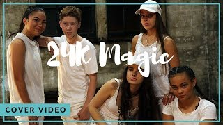 24k Magic | Bruno Mars (Ky Baldwin) [HD]