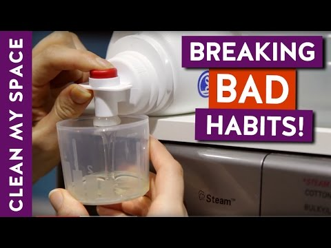Breaking 10 Common Bad Cleaning Habits