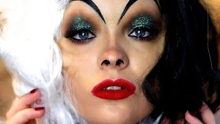 Cruella De Vil Makeup Tutorial
