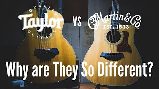 Taylor Versus Martin...Why Are Their Guitars So Different?