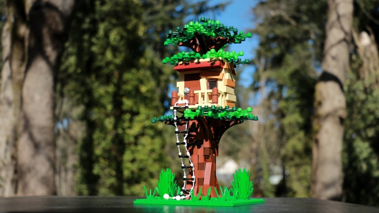 Simple LEGO Treehouse⎜A LEGO MOC