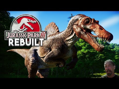 Jurassic Park Evolution Walkthrough - REBUILDING JURASSIC