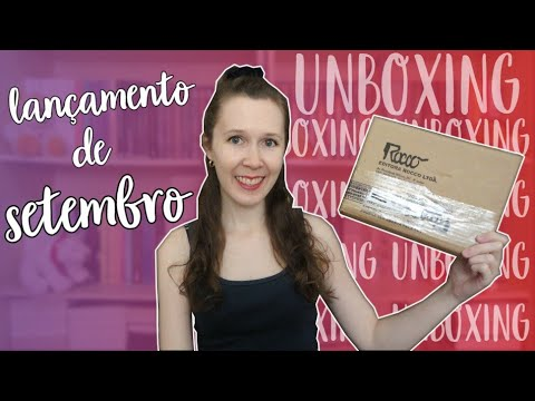 Unboxing | Lançamento de Setembro da Rocco | Leituras de Deni