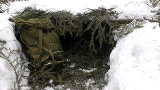 Winter Survival - 15 minutes shelter