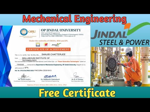 Mechanical engineering- Course with Certificate |Free |How to get ...