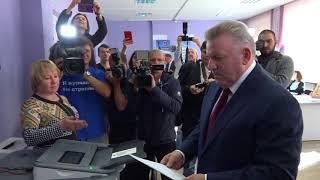 Вячеслав Шпорт принял участие в Едином дне голосования