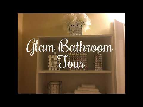 Glam Bathroom Tour