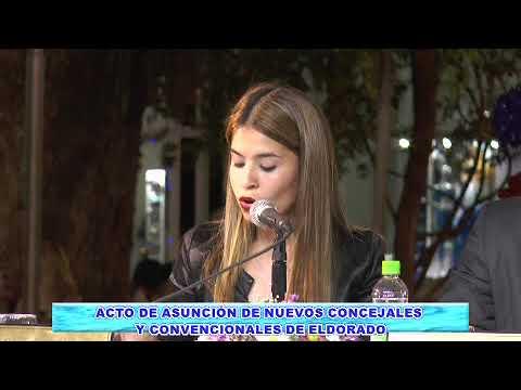 ACTO DE ASUNCIÓN DE CONCEJALES Y CONVENCIONALES DE ELDORADO