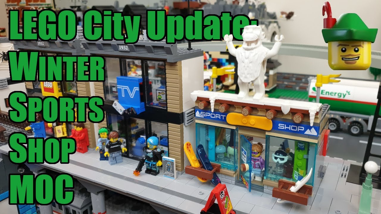 LEGO City Update - Winter Sports Shop MOC 60203 ⛷🏹