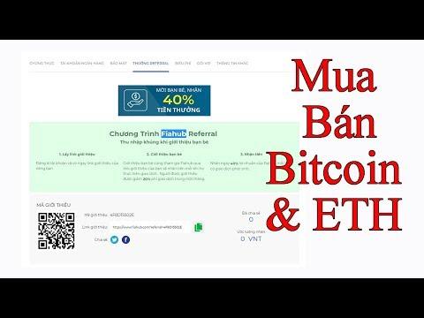 Hướng Dẫn Mua Bán Bitcoin & ETH Trên Sàn Fiahub Giá Rẻ