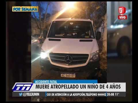 Otra tragedia vial en Junín