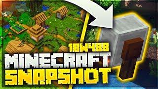 NUOVO VILLAGGIO E LA GRINDSTONE - Minecraft Snapshot 18W48B
