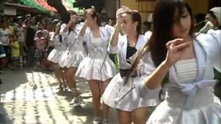 MARCHING BAND MAJORETTES