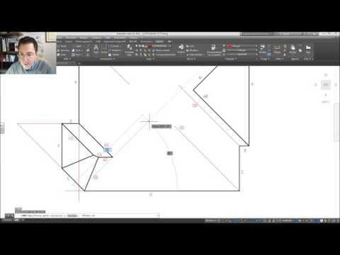 Disegno di un tetto a padiglione: esercizio n°2
