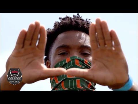 D'Eriq King's turbulent journey to the Miami Hurricanes | College GameDay
