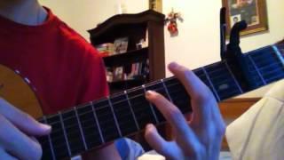 Ed Sheeran - Where we land quick guitar lesson