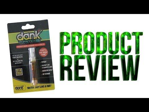 Marijuana Product Review: DankTanks Pre-filled Dab Concentrate Wax Vaporizer Pen Attachment