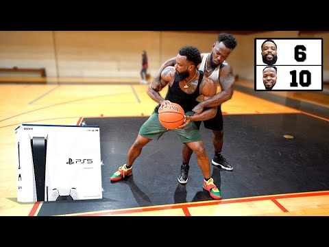 Most Physical 1v1 Basketball Brawl Ever For Playstation 5!