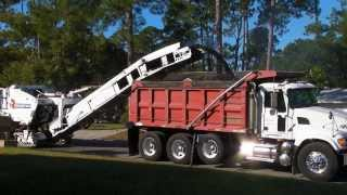 Asphalt Milling Machine Roadtec RX500 and Sweeper