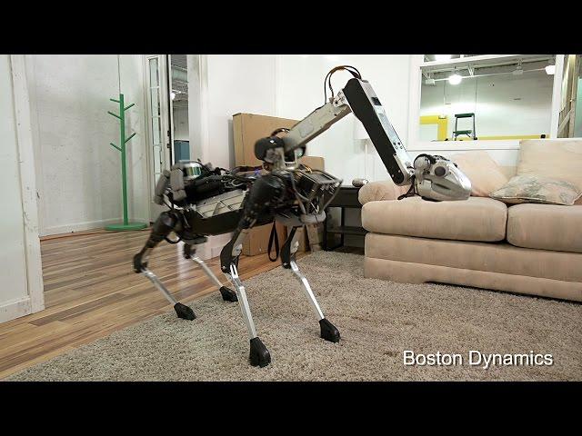 Со следующего года знаменитые роботы Spot получат руку-манипулятор