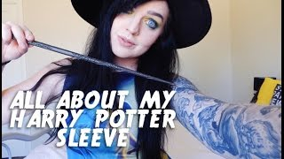 All About My Harry Potter Sleeve