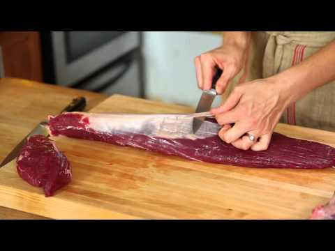 How to Trim Beef Tenderloin into Filet Mignon