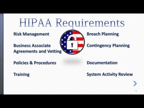 Omnibus HIPAA Compliance Officer Training - YouTube