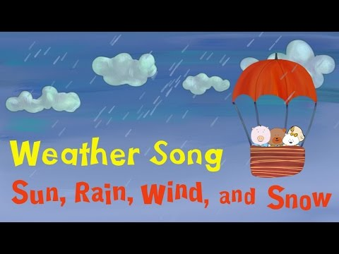 Weather Song for kids