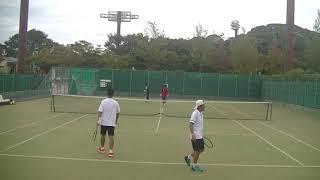 2018全日本ベテランテニス選手権45歳以上ダブルス1R③