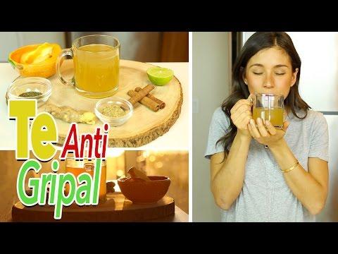 Té Para La Tos, Gripe, Dolor de Garganta y Resfriado