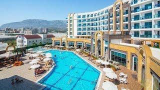 Летим отдыхать в Турцию с детьми 2018г. Крутой отель в Алании 5*,  дети купаются в море День #1