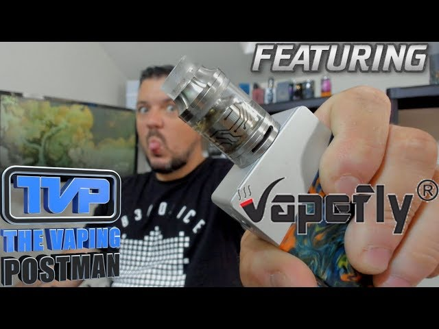 Vapefly core RTA, build, wick and review!