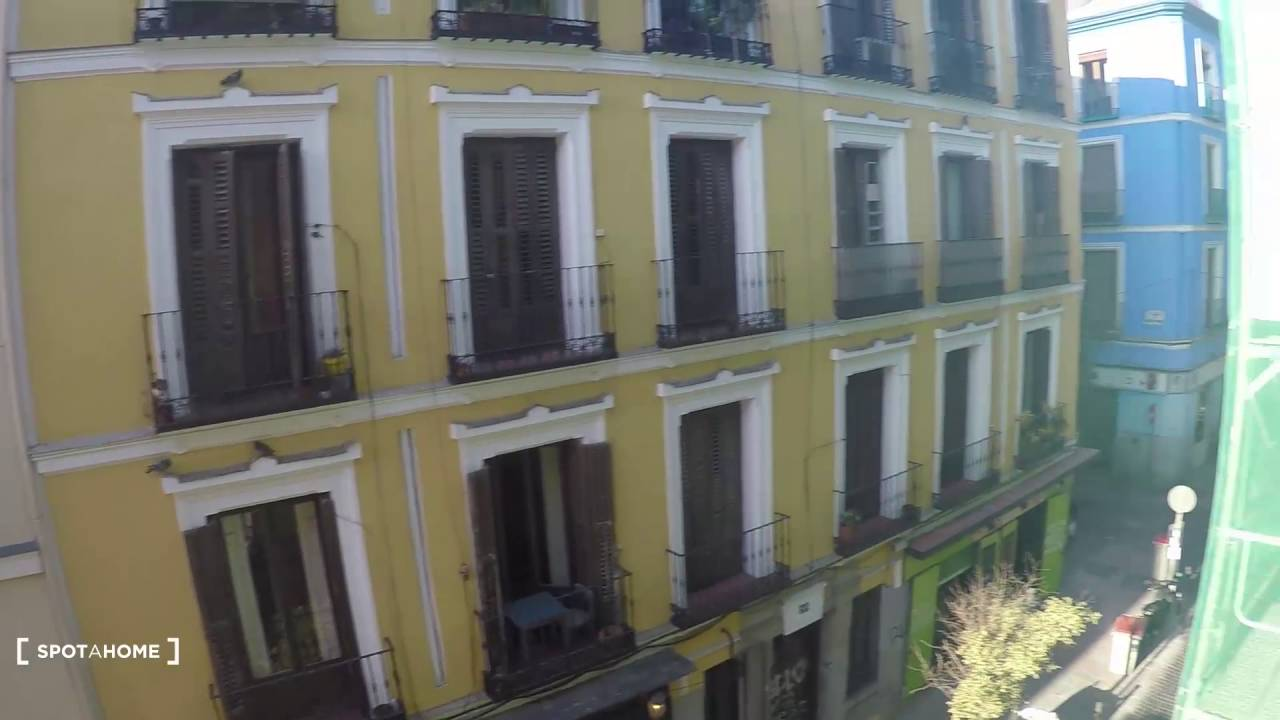3-bedroom apartment with balcony for rent in Malasana area