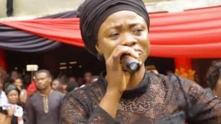 Diana Asamoah and Mama Esther cried..