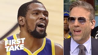 The Warriors tried to 'milk' KD before he leaves in free agency – Max Kellerman   First Take