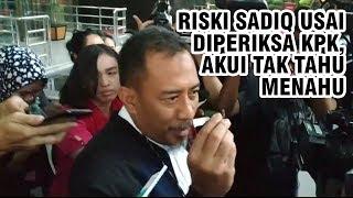 Seusai Diperiksa KPK, Riski Sadiq Akui Tak Tahu Soal 'Ini Tidak Gratis Buat Teman-Teman'