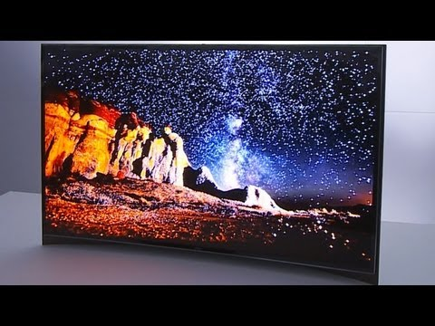 Would You Buy a Curved TV For Gaming? – CES 2013