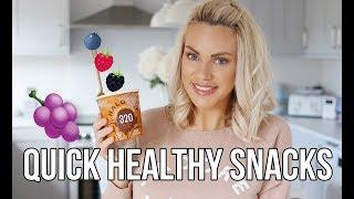 SLIMMING WORLD SNACK IDEAS || HEALTHY FOOD HACKS