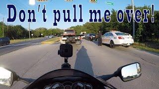 Don't pull me over for  Lane splitting