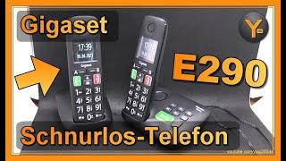 Das Gigaset E290 / E290A - Ein brauchbares Senioren-Telefon?