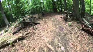 User's recorded run through Big Hollow Trail.