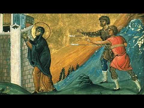 Мученица Святая Пелагия (Пелагея) - Дева Тарсийская