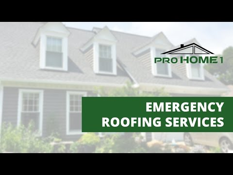 If you experienced a severe storm and have roof storm damage and roof leaks, please give us a call we are here to help.