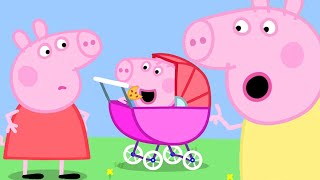 Peppa Pig Official Channel | George Pig Becomes a Baby Piggy