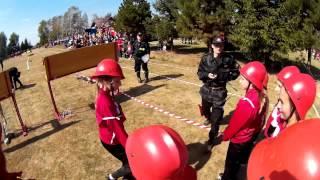 Dobieszyn: Zawody sportowo - pożarnicze 2015 Gminy Jedlicze i Miasta Krosna